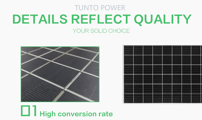 Tunto 200w off grid solar panel kits supplier for household-4