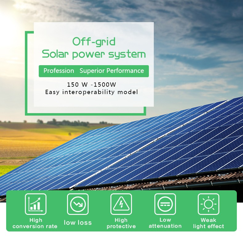 Tunto 500w monocrystalline solar cell customized for plaza-1