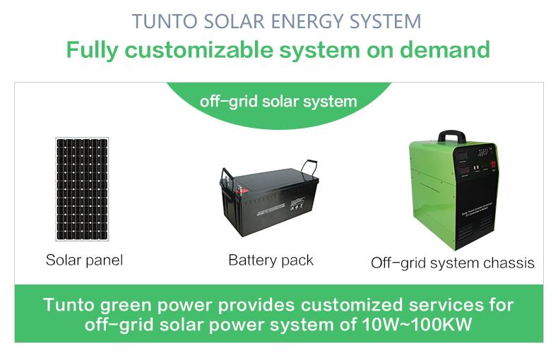Tunto 500w monocrystalline solar cell customized for plaza-2