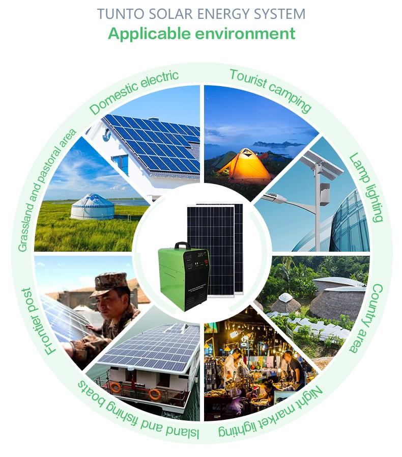 Tunto 500w monocrystalline solar cell customized for plaza-3