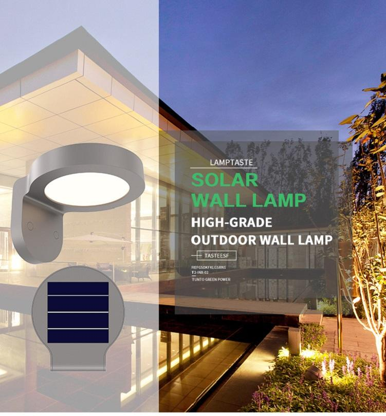 Tunto unique solar outside lights with sensor inquire now for household