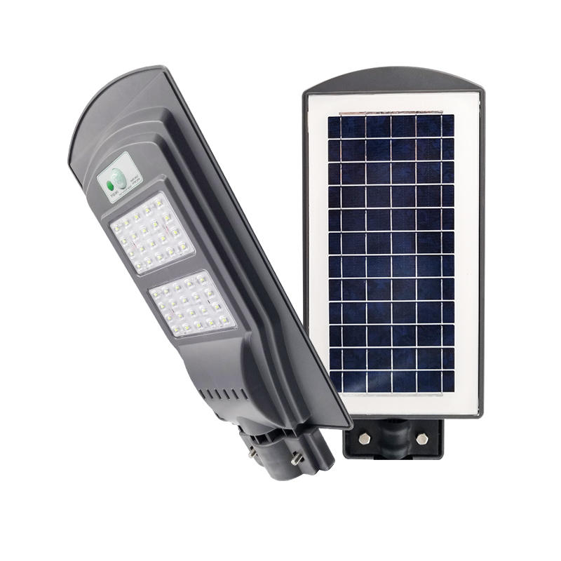 All in one integrated solar street light T2-60W