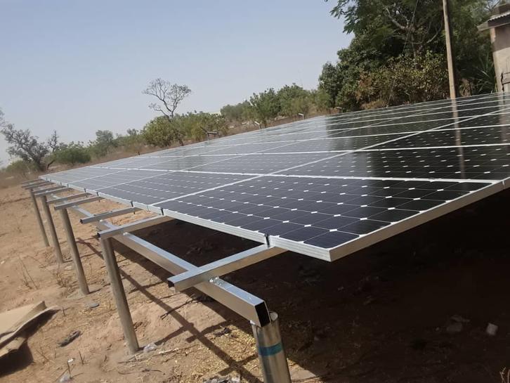 Solar water pump system in Nigeria