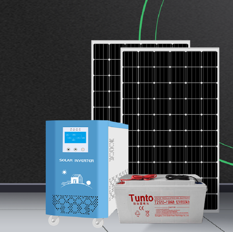 Two new off-grid solar energy storage generator systems have been installed and put into use