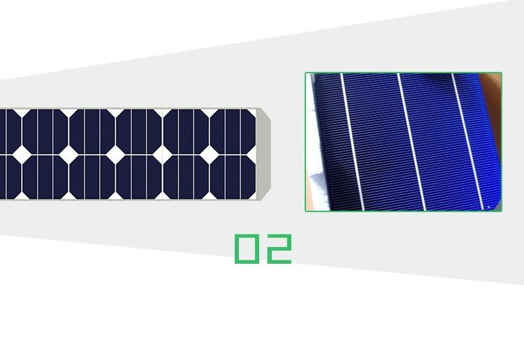 30W 40W 50W 60W 70W 80W All in one solar street light with battery inside solar panel and IP66 water proof