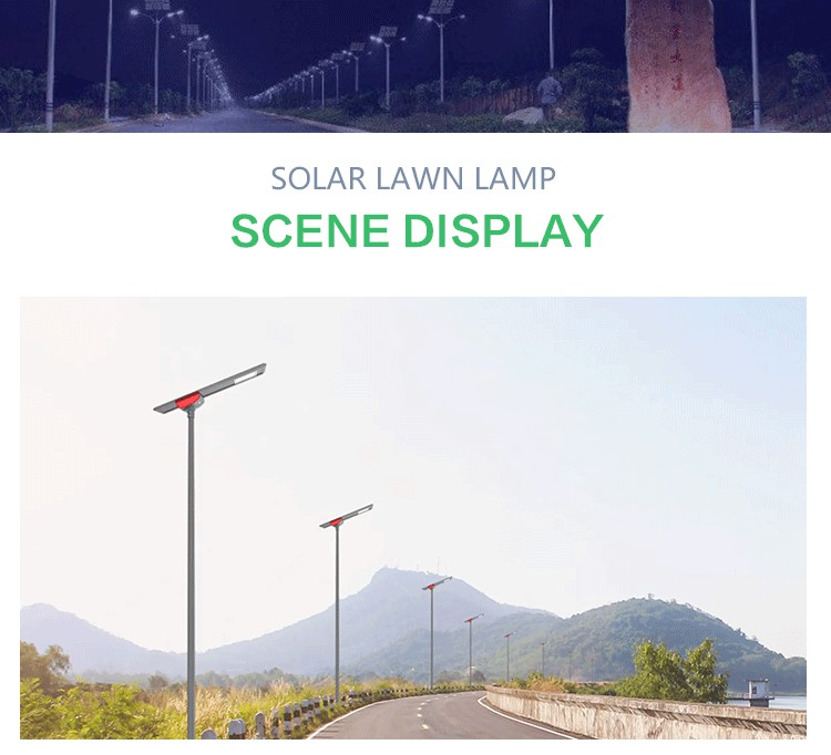 waterproof solar powered parking lot lights supplier for road-13