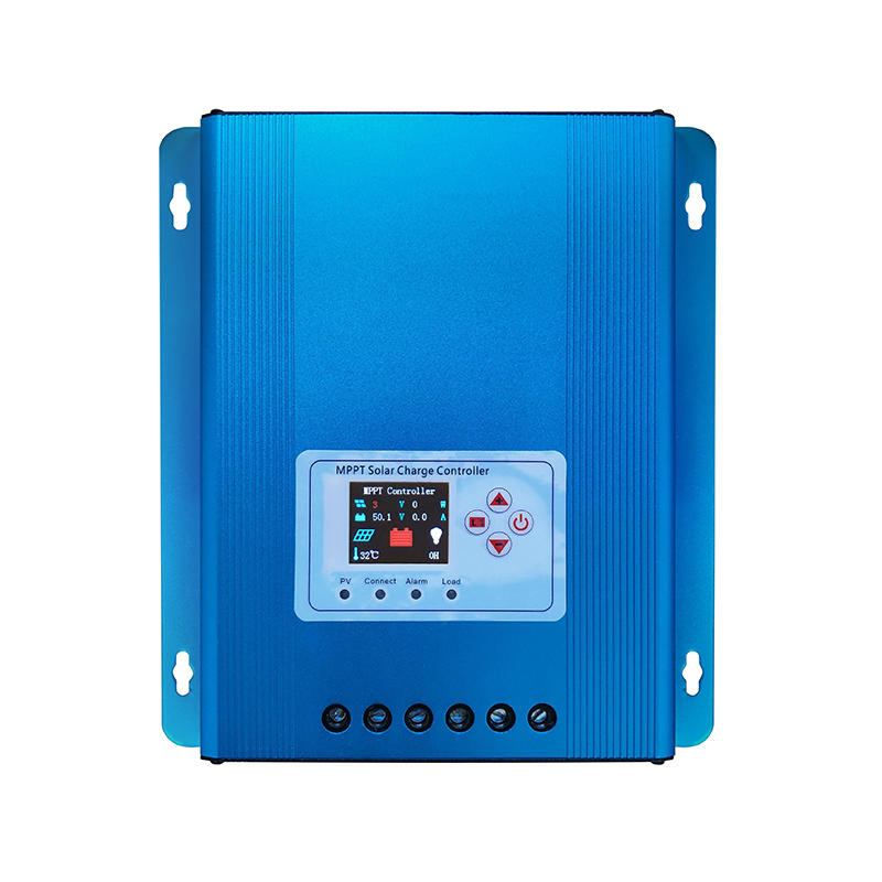 aluminium alloy 30 50 60A home MPPT solar charge voltage controller inverter