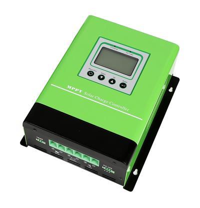 China sealed batteries 12 24 48V home MPPT solar charge voltage controller inverter