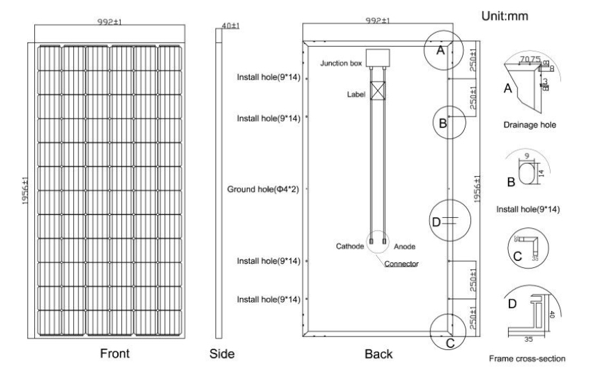 60w off grid solar panel kits supplier for household-15