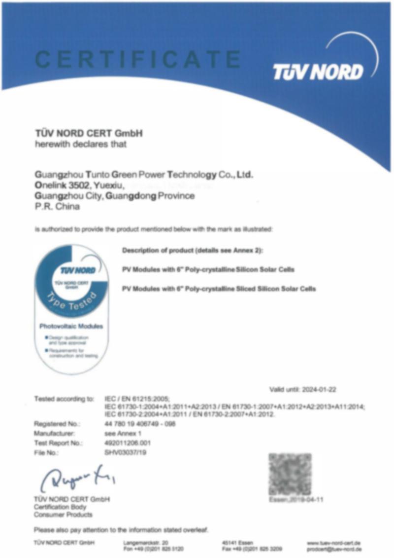 Tunto 200w polycrystalline solar panel supplier for household-16
