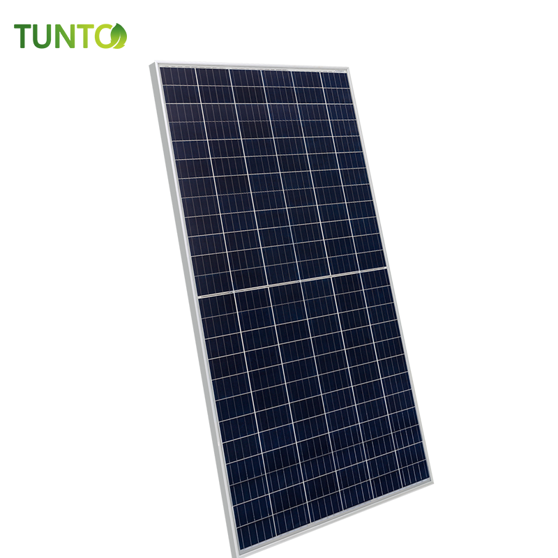 Poly-crystalline solar panel half cell high efficiency solar cells for on-grid solar generator system home use