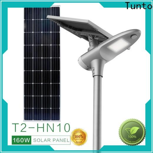 Tunto cool all in one solar street light supplier for road