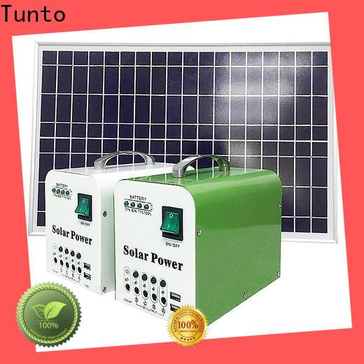 Tunto solar generator kit manufacturer for outdoor