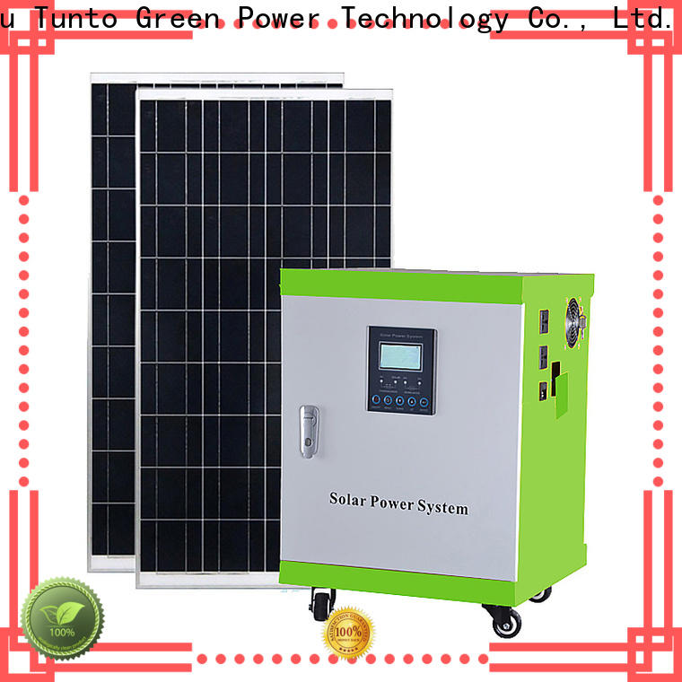 portable off grid solar power systems series for road