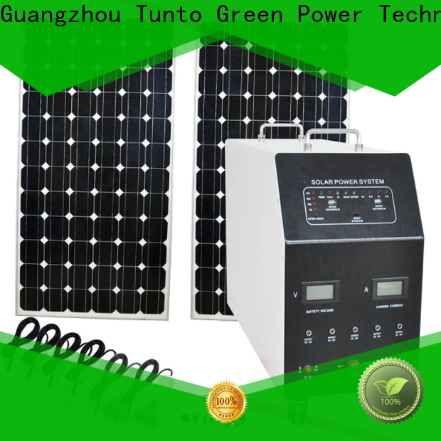 portable off grid solar panel kits from China for plaza
