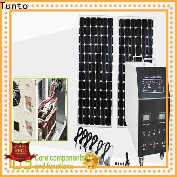 600w solar generator kit customized for street