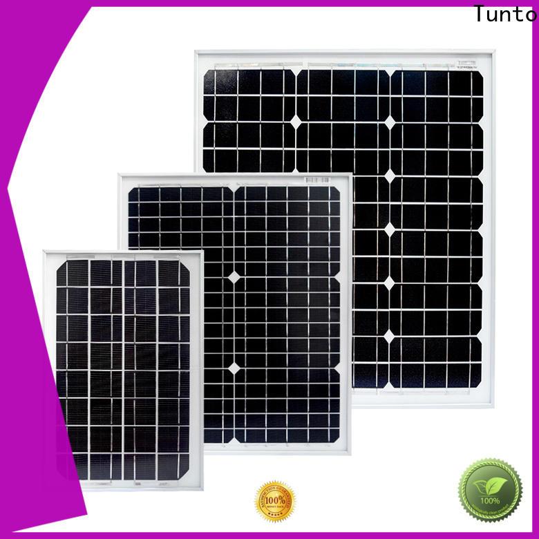 Tunto polycrystalline monocrystalline solar panel personalized for solar plant
