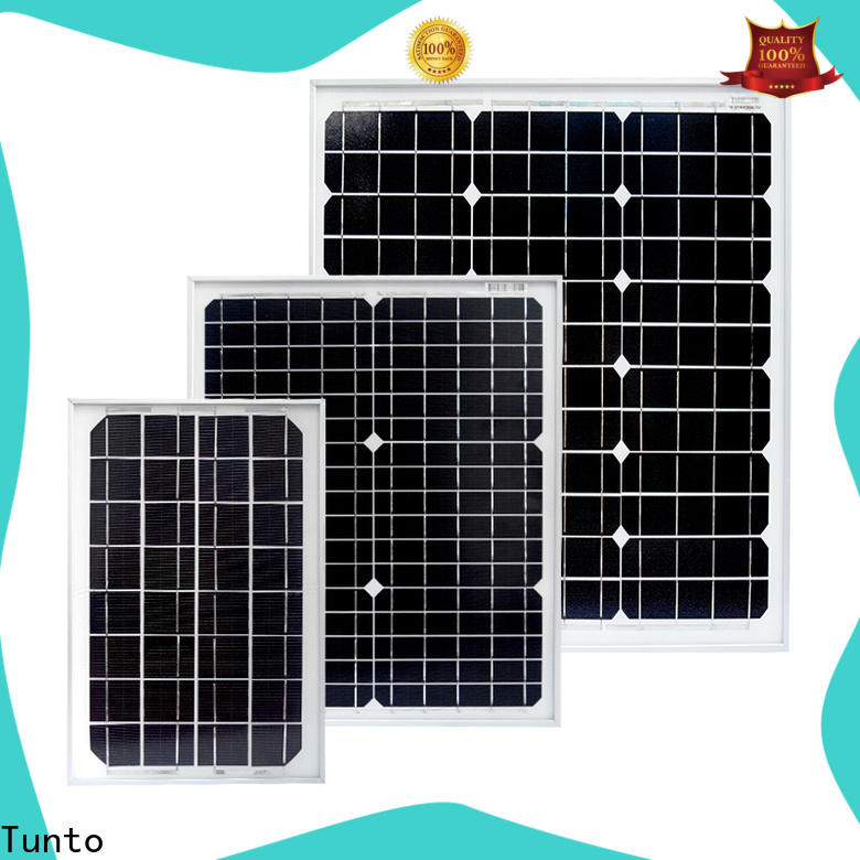 Tunto polycrystalline solar panel personalized for farm