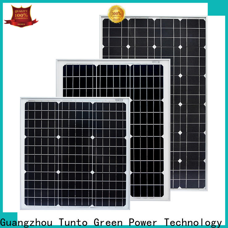 Tunto polycrystalline monocrystalline solar panel personalized for farm