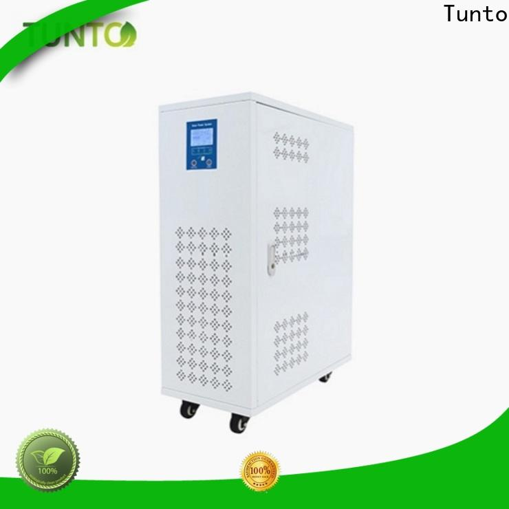 Tunto off grid power systems manufacturer for outdoor