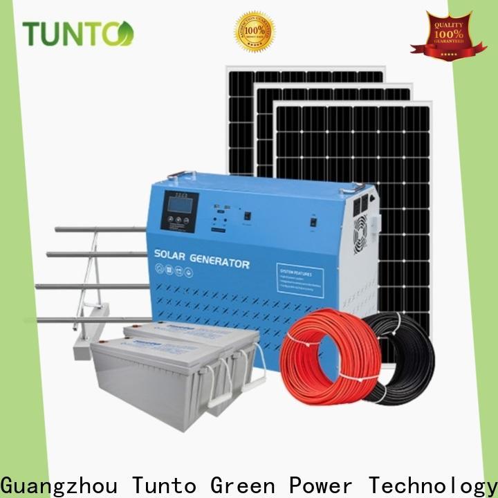 Tunto polycrystalline solar panel from China for street