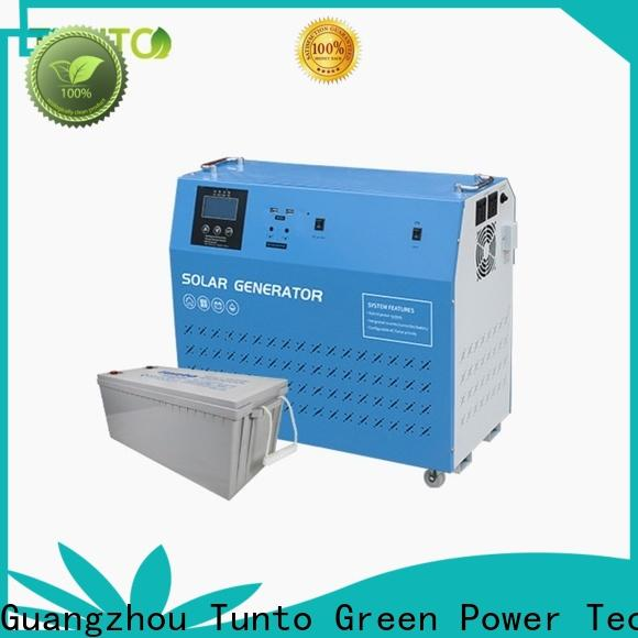 3000w off grid solar power systems series for street