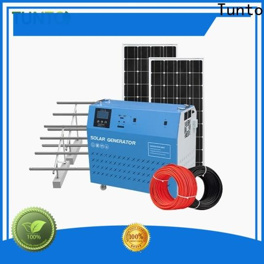 Tunto 10w polycrystalline solar panel series for road