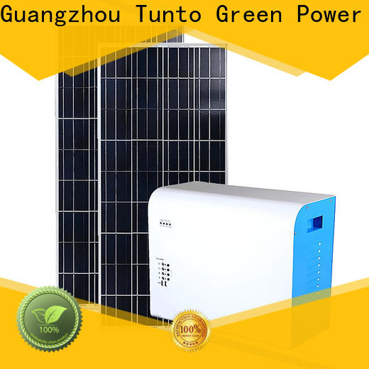 Tunto protable solar system manufacturer for home
