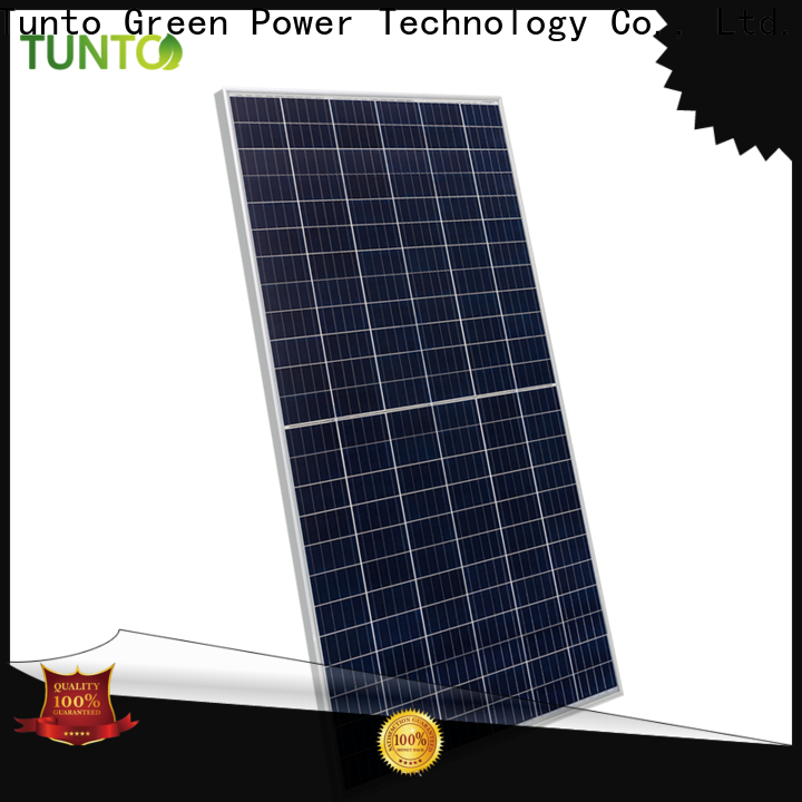 Tunto off grid solar panel kits personalized for solar plant