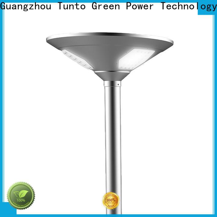 Tunto 20w cheap solar garden lights with good price for street lights