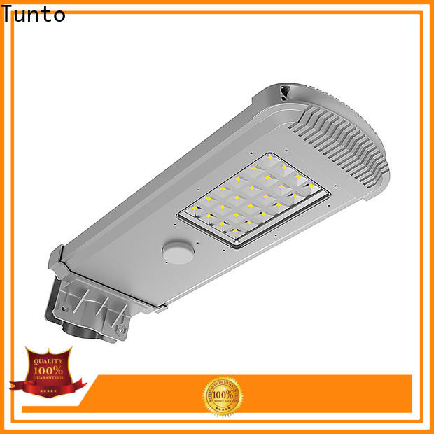 Tunto solar led street light factory price for outdoor