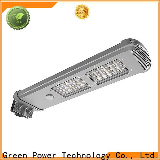 waterproof solar panel street lights factory price for parking lot