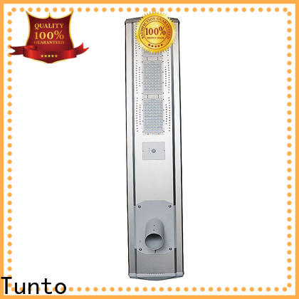 Tunto solar street lamp factory price for plaza