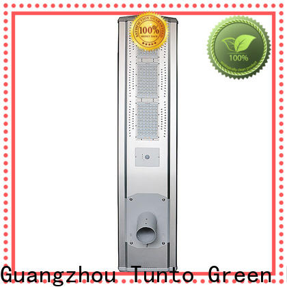 Tunto energy saving all in one solar street light factory price for outdoor