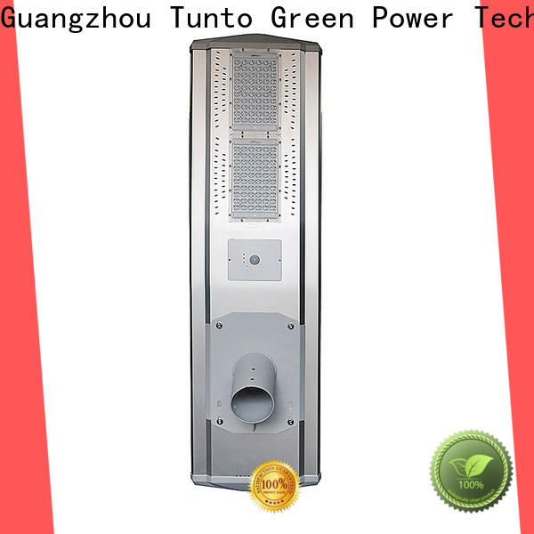 Tunto commercial solar street lights wholesale for outdoor
