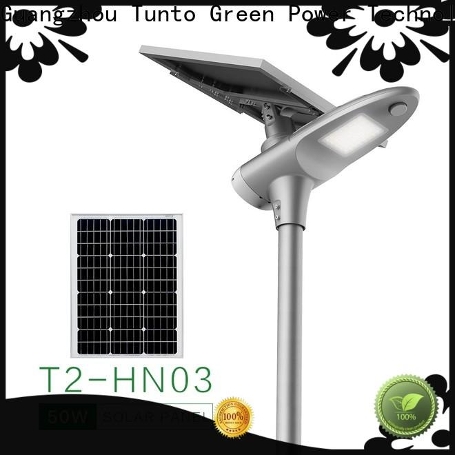 4000lm solar street lamp personalized for outdoor