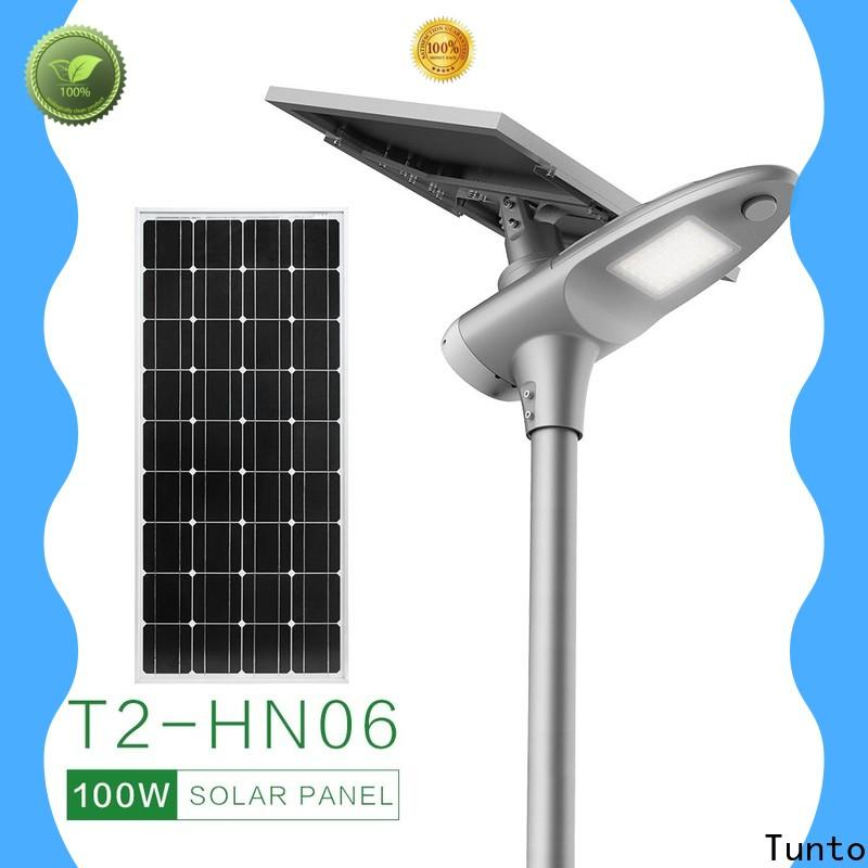 quality solar led street light supplier for outdoor