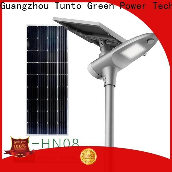 Tunto waterproof solar street lighting system factory price for road