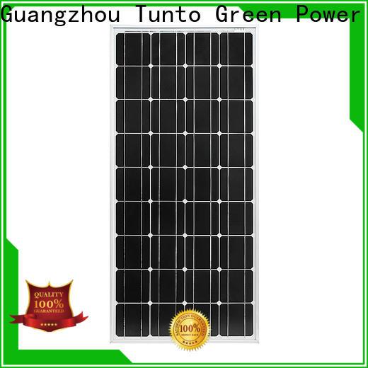 Tunto monocrystalline solar panel factory price for street lamp