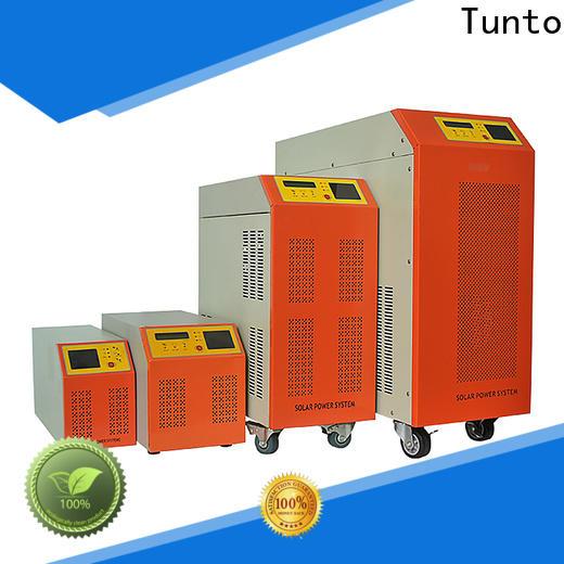 Tunto solar inverter system supplier for lamp