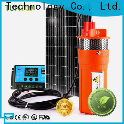 Tunto professional solar pumping system from China for pondaeration