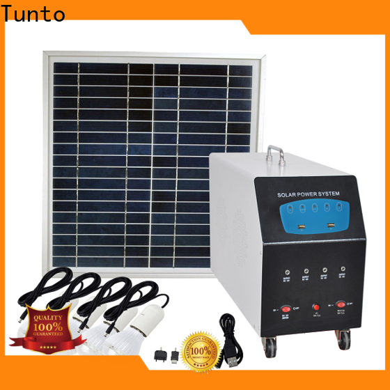 5kw portable solar power generator manufacturer for street