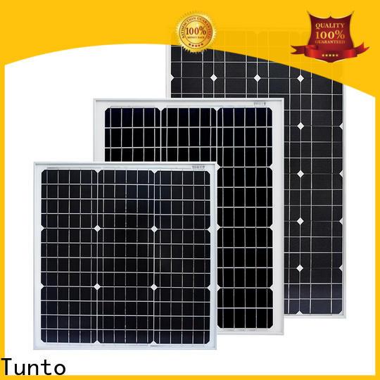 Tunto 100w off grid solar panel kits personalized for farm