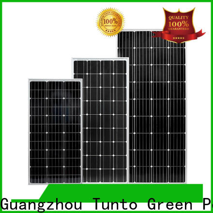 Tunto monocrystalline monocrystalline solar panel wholesale for solar plant