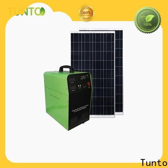 Tunto 500w monocrystalline solar cell customized for plaza