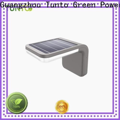 Tunto high quality solar garden lamps design for garden