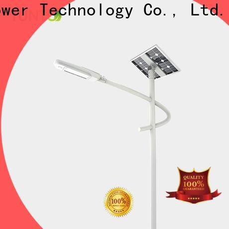 Tunto 30w solar powered street lights factory price for outdoor