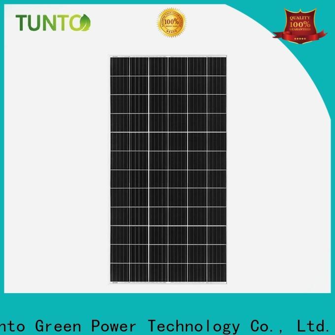 Tunto monocrystalline monocrystalline solar panel factory price for farm