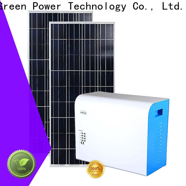 Tunto practical protable solar system factory for charging