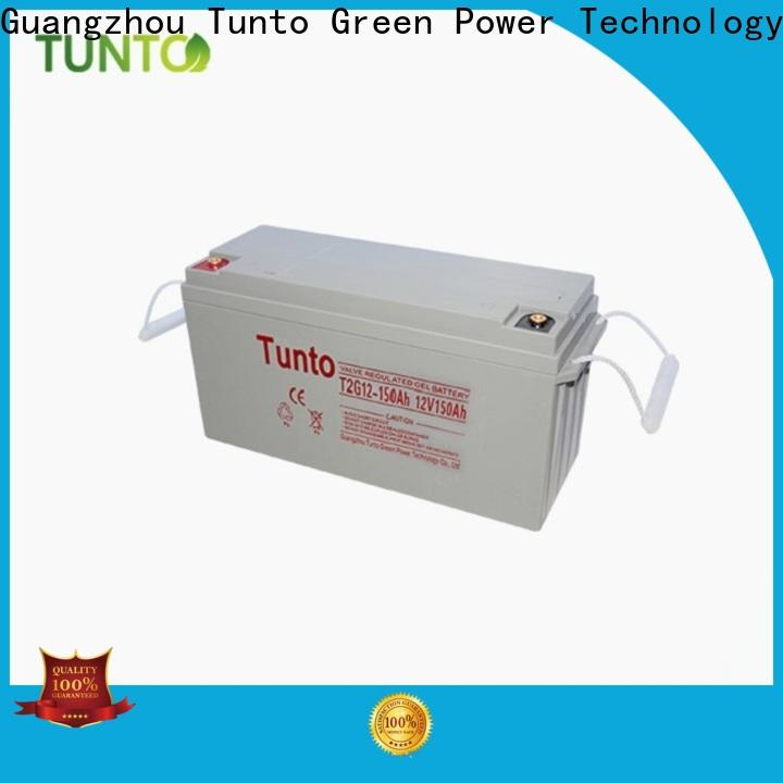 Tunto rechargeable off grid solar power systems with good price for solar street light